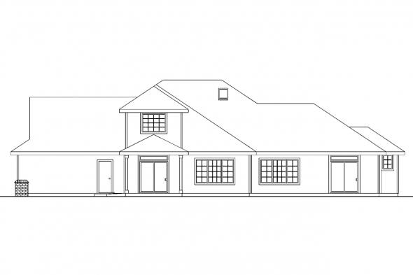 Traditional House Plan - Bloomsburg 30-667 - Front Elevation