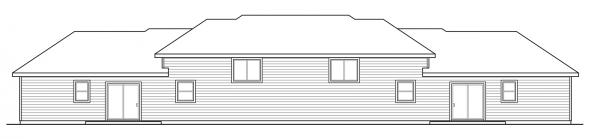 Lincolnshire - 60-032 - Duplex/Multi-Family Plans - Floor Plan