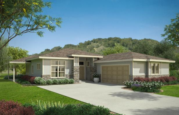 House plans home plans house plan designs garage for Prairie style garage plans