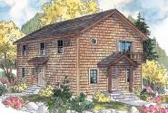 Saltbox House Plan Style