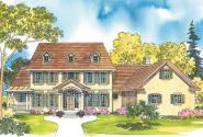 Colonial House Plan Style