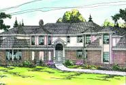 Cheshire - 10-055 - Estate Home Plans - Front Elevation