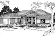 Fernridge - 10-175 - Traditional Home Plans - Front Elevation