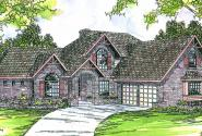 Marcellus - 10-301 - European Home Plans - Front Elevation
