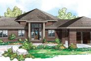 Alder Springs - 10-549 - Georgian Home Plans - Front Elevation