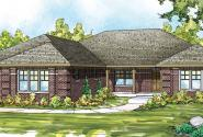 Hills Creek - 10-573 - Ranch Home Plans - Front Elevation