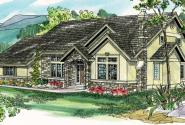 Lafayette - 10-156 - European Home Plans - Front Elevation