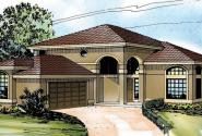 Southaven - 11-038 - Southwestern Home Plans - Front Elevation