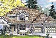 Balentine - 30-340 - Contemporary Home Plan - Front Elevation