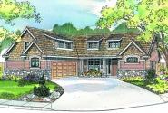 Heartfield - 30-400 - Craftsman Home Plan - Front Elevation