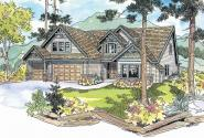 Tamarack - 30-426 - European Home Plan - Front Elevation