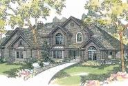 Bellingham - 30-429 - Estate Home Plan - Front Elevation