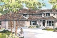 Casselman - 30-432 - Contemporary Home Plan - Front Elevation