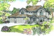 Masterson - 30-455 - Craftsman Home Plan - Front Elevation