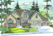 Remmington - 30-460 - Classic Home Plan - Front Elevation