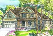 Fitzgerald - 30-492 - Chateau Home Plan - Front Elevation