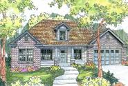 Hennebery - 30-520 - Traditional Home Plan - Front Elevation