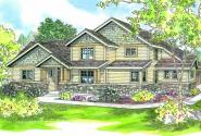 Awbery - 30-551 - Craftsman Home Plan - Front Elevation