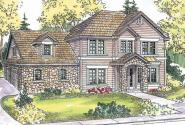 Cartwright - 30-556 - European Home Plan - Front Elevation