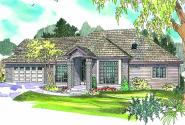 Vicksburg - 30-567 - Traditional Home Plan - Front Elevation