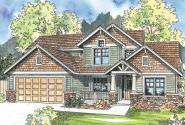 Westdale - 30-572 - Craftsman Home Plan - Front Elevation