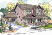 Maplecreek - 30-591 - Bungalow Home Plan - Front Elevation