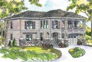 Marianna - 30-592 - European Home Plan - Front Elevation