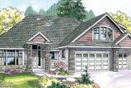 Saddlebrook - 30-616 - Country Home Plan - Front Elevation