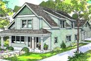 Mayberry - 30-619 - Country Home Plan - Front Elevation