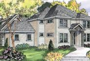 Fairbanks - 30-648 - Traditional Home Plan - Front Elevation