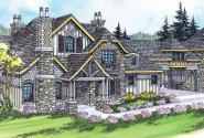 Chesterson - 30-649 - Estate Home Plan - Front Elevation