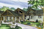Woodcliffe - 30-715 - Craftsman Home Plan - Front Elevation
