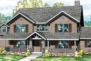 Ambrosia - 30-752 - Country Home Plan - Front Elevation