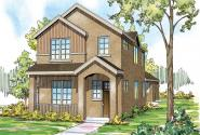 Rock Creek II - 30-820 - Townhome Plan - Front Elevation