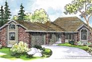 Norwich - 30-175 - Contemporary Home Plan - Front Elevation