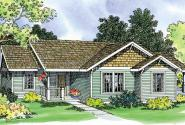 Mattson - 30-195 - Traditional Home Plan - Front Elevation