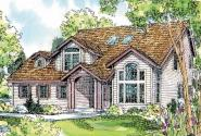 Olivia - 30-219 - Traditional Home Plan - Front Elevation