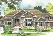 Bethany - 30-272 - Estate Home Plan - Front Elevation