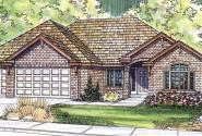 Ryland - 30-336 - Ranch Home Plan - Front Elevation