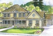 Randell - 30-395 - Victorian Home Plan - Front Elevation