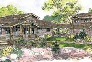 Meriweather - 30-502 - Craftsman Home Plan - Front Elevation
