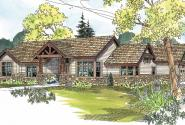 Inglewood - 30-538 - Craftsman Home Plan - Front Elevation