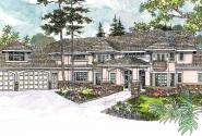 Jacksonville - 30-563 - Estate Home Plan - Front Elevation