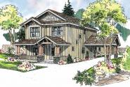 Alderdale - 30-573 - Craftsman Home Plan - Front Elevation