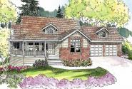 Cumberland - 30-606 - Country Home Plan - Front Elevation