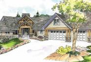 Brycewood - 30-609 - Estate Home Plan - Front Elevation
