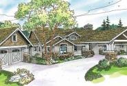Arborgate - 30-654 - Craftsman Home Plan - Front Elevation