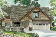 Maywood - 30-680 - Cottage Home Plan - Front Elevation