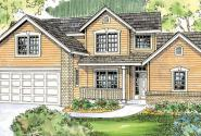 Esterville - 30-699 - Country Home Plan - Front Elevation
