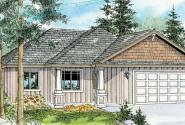 Camas - 30-711 - Craftsman Home Plan - Front Elevation